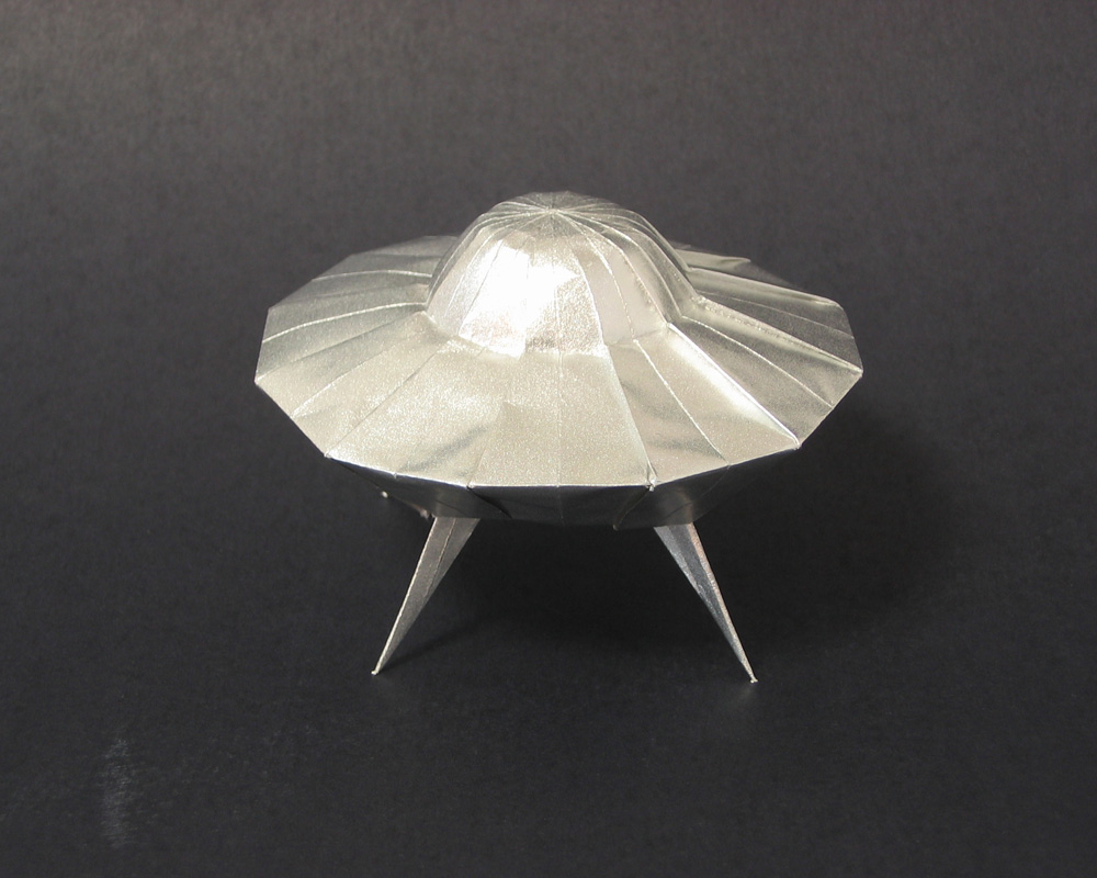 A Paper Balloon Origami