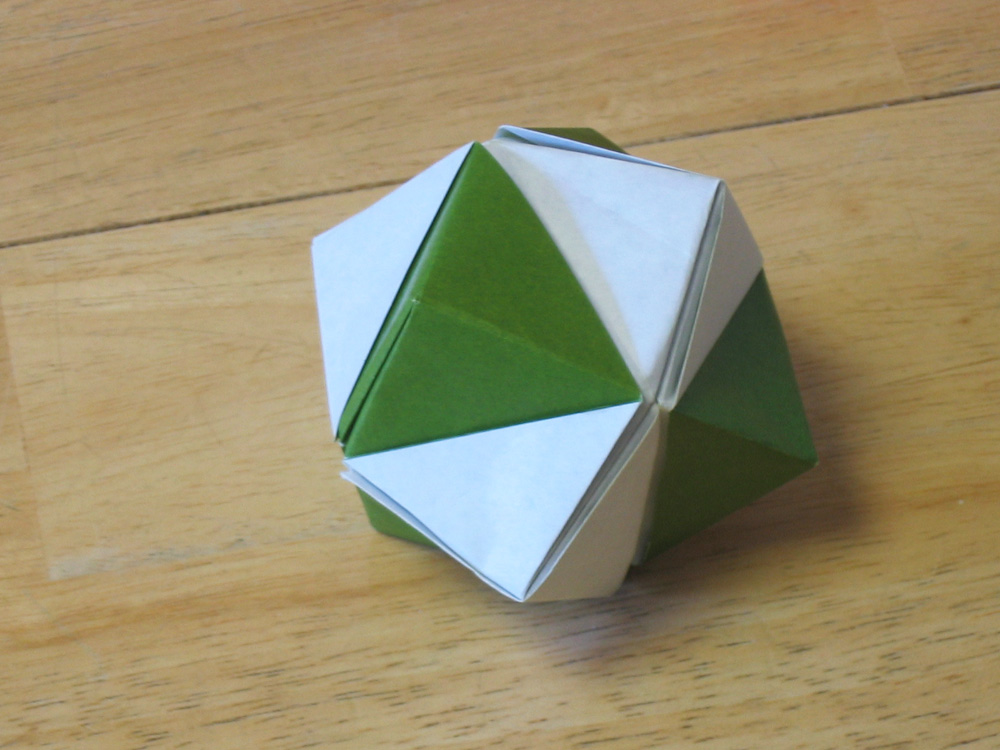 Iive Seen This Kind Of Thing Done As Modulars And Thought It Was Doable A Single Sheet Stellated Polyhedra Are Pretty Advanced But The