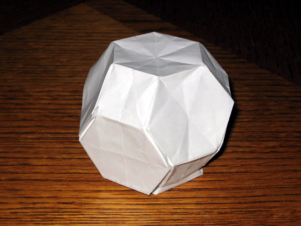 How to make a Great Dodecahedron | Geometric origami, Modular ... | 750x1000