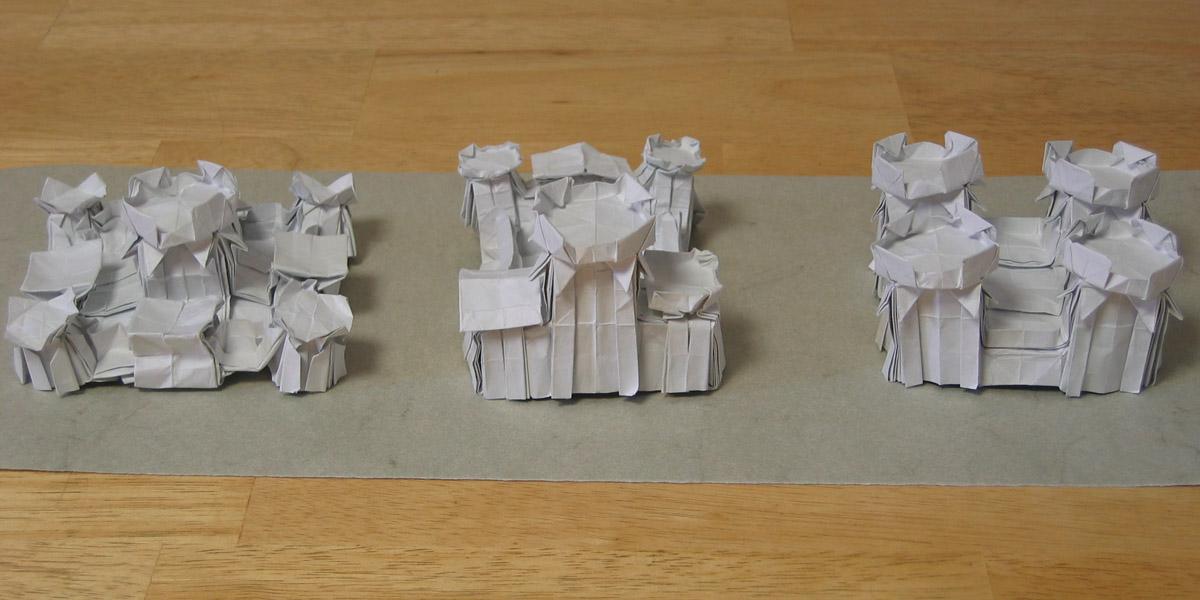 Origami castle   Steve James   Flickr   600x1200