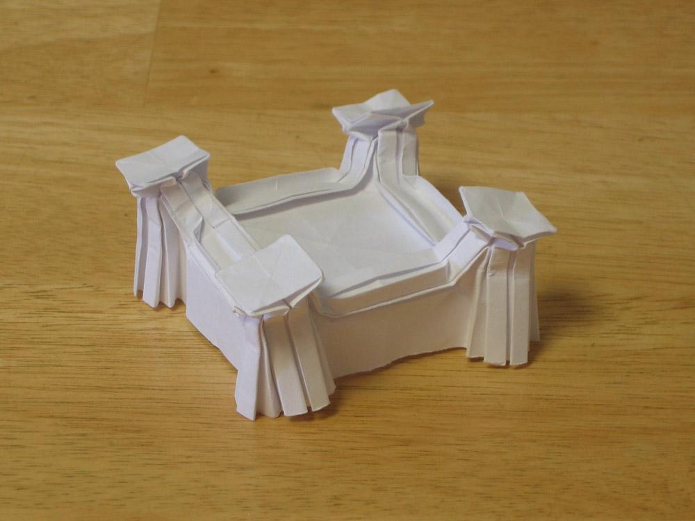 origami castle explorations zing blog