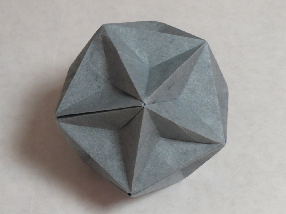 Dodecahedron Instructions with A6 paper | 750x1000