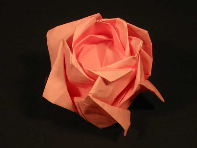 How To Make Origami Rose. rose make Paper, origami,